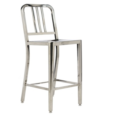 Army stool polished overstock