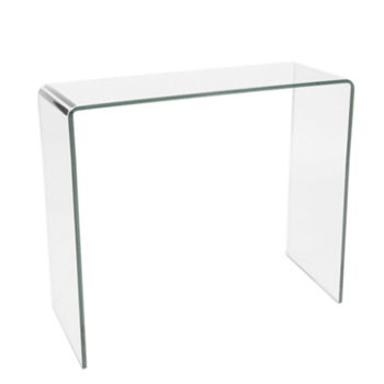 good curvo console table with meuble hanna but. Black Bedroom Furniture Sets. Home Design Ideas