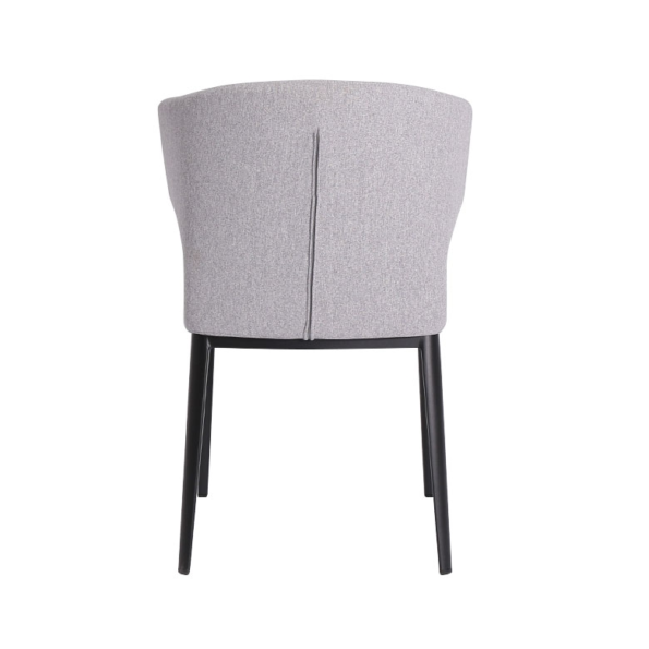 Cabo Chair Light Grey Back