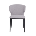 Cabo Chair Light Grey Front