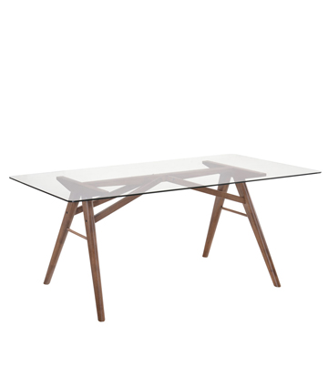 Dorcus Dining Table Mikaza Meubles Modernes Montreal Modern Furniture Ottawa