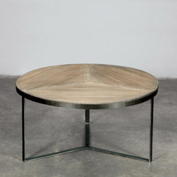 Trumpet oval coffee table mikaza meubles modernes for Coffee tables ottawa