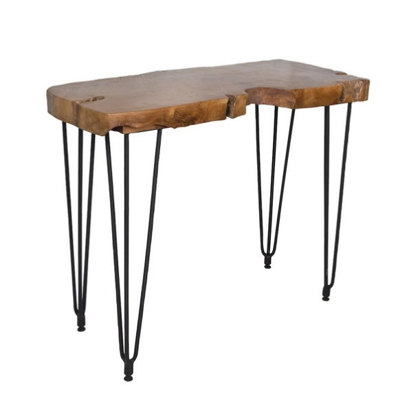 Natura Hairpin console table