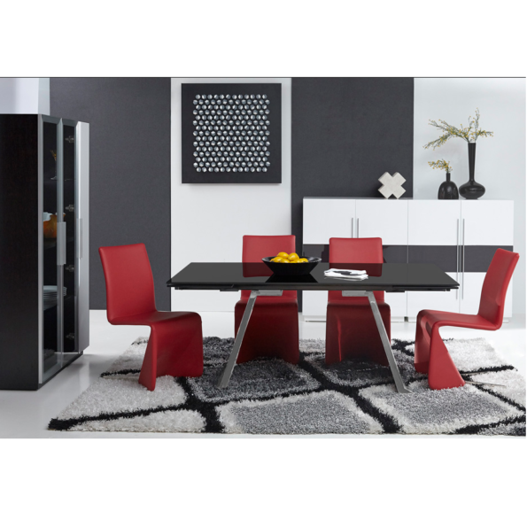 Penthouse Dining Table Mikaza Meubles Modernes Montreal Modern Furniture Ottawa