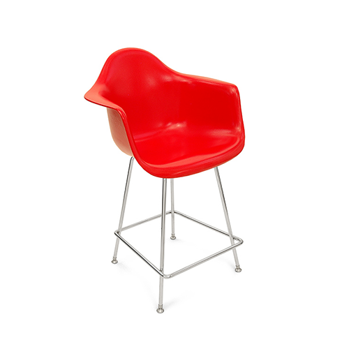 Eiffel stool with coloured shell 1