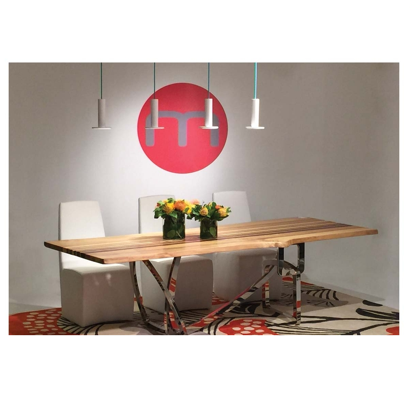 Calder Dining Table Mikaza Meubles Modernes Montreal Modern Furniture Ottawa