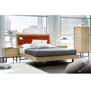 Ophelia bed mikaza meubles modernes montreal modern for Lion meuble liquidation montreal