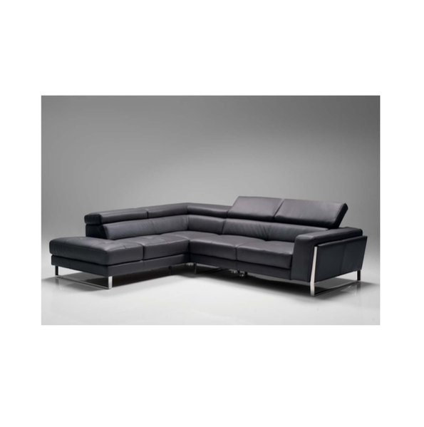 Ares leather sectional mikaza meubles modernes montreal for Lion meuble liquidation montreal