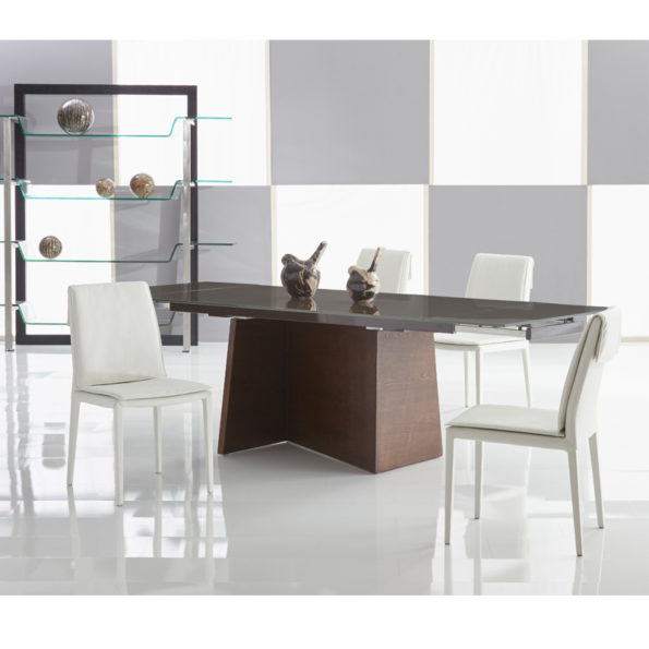 Groovy Dining Table Mikaza Meubles Modernes Montreal Modern Furniture Ottawa