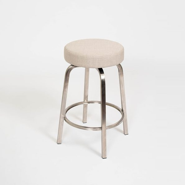 Classic Stool Titanium on stainless