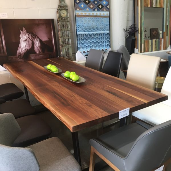 2Loons 6 foot Solid Walnut Floor Model Sale