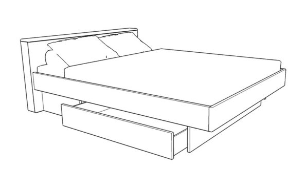 Classica-bed-with-drawer-base