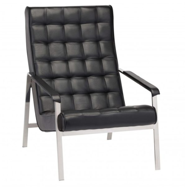 Quentin Leather Lounger