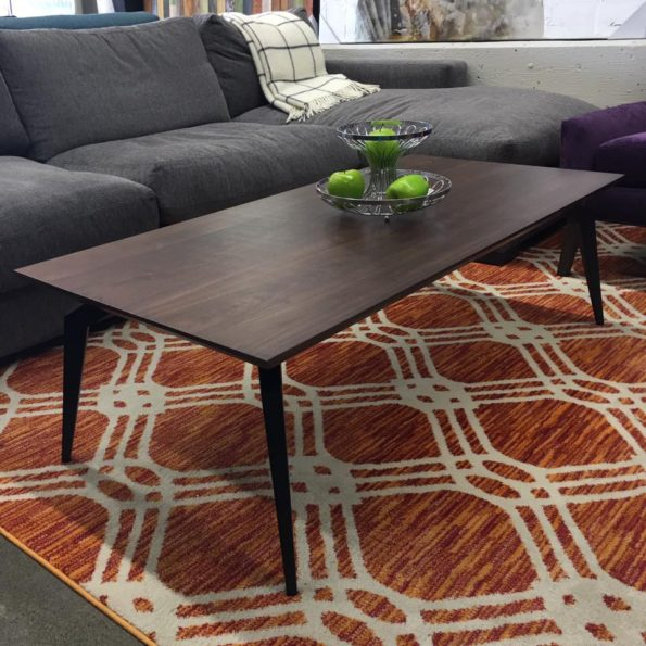 Tapered Solid American Walnut coffee and dining Tables