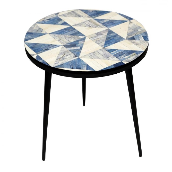 Lancaster side table mikaza meubles modernes montreal for Table 85 ottawa