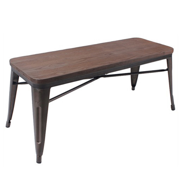 Elio backless bench mikaza meubles modernes montreal for Lion meuble liquidation montreal