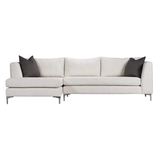 Byward sectional mikaza meubles modernes montreal modern for Sofa cuir liquidation montreal