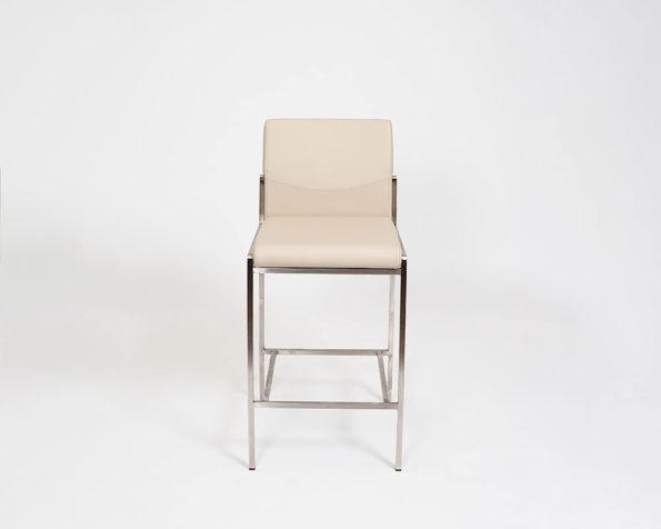 Angle stool taupe