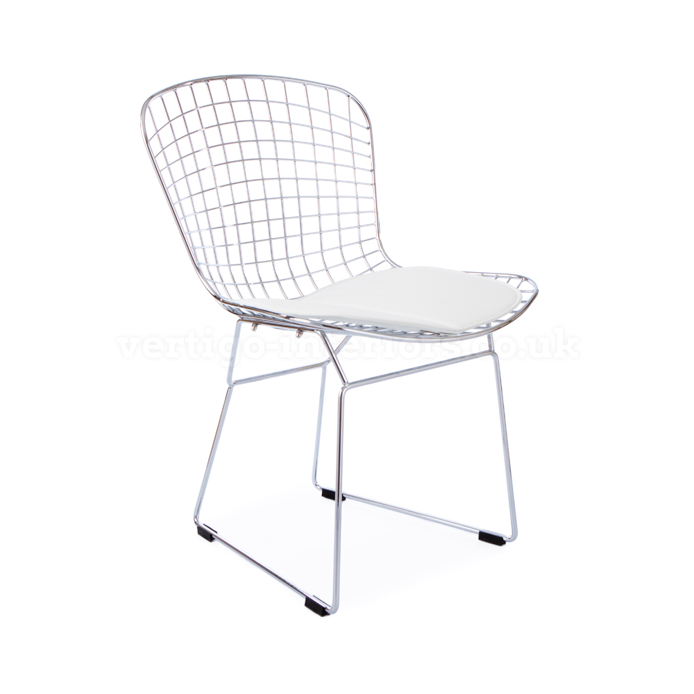 com designers with swiveluk double furniture chair harry replica chairs uk style cushion bertoia side from wire