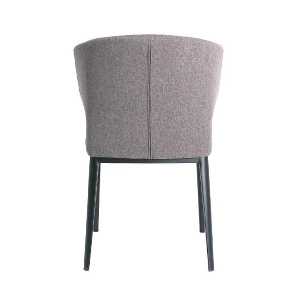 Cabo Chair Dark Grey Back