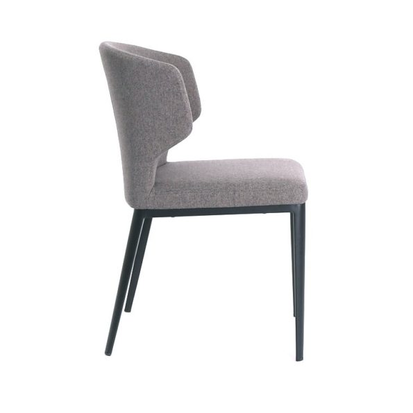 Cabo Chair Dark Grey Side