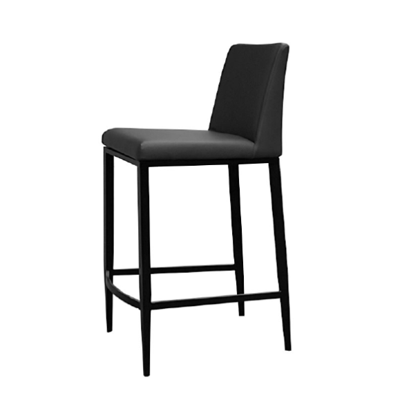 Celine stool with black base
