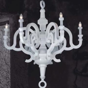 Danburite chandelier pendant