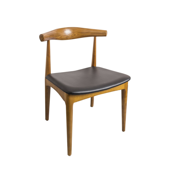 Elbow Chair Beech Wood Walnut