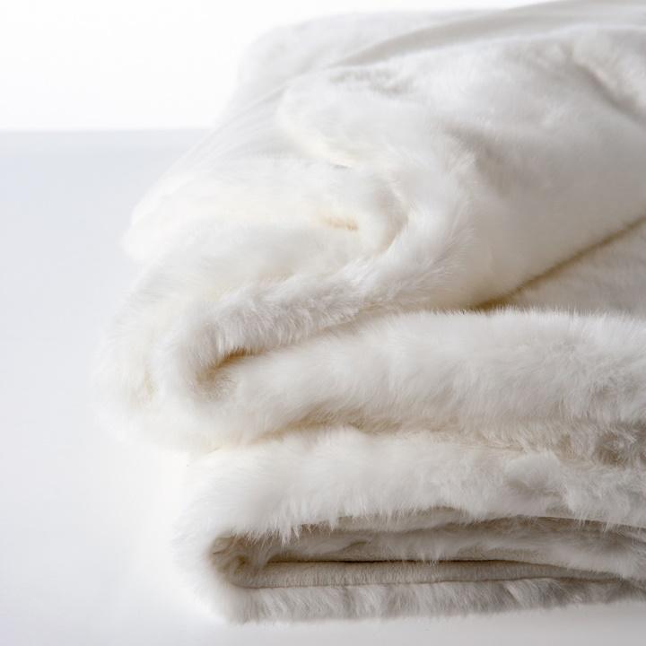 Aspen Deluxe Faux Fur / Velboa Throw