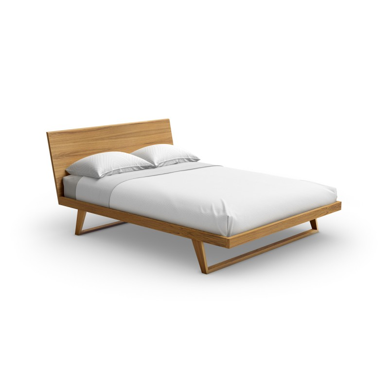 Malta wood bed