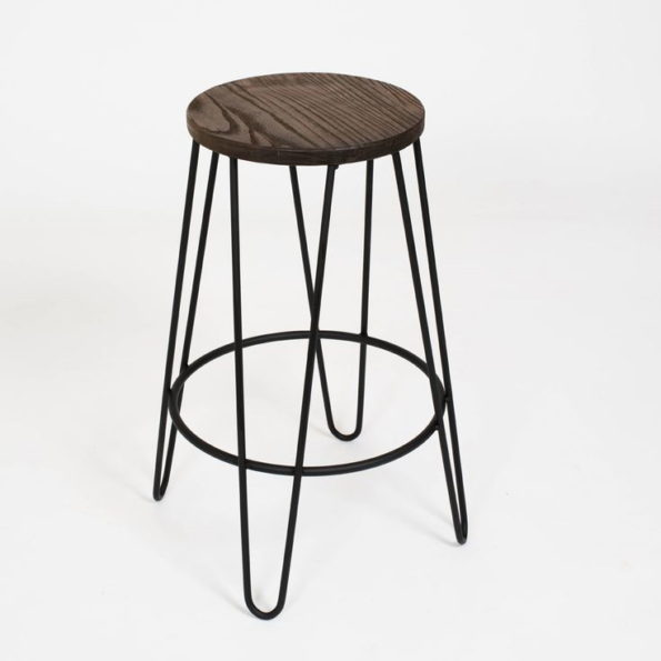 Hairpin counter stool