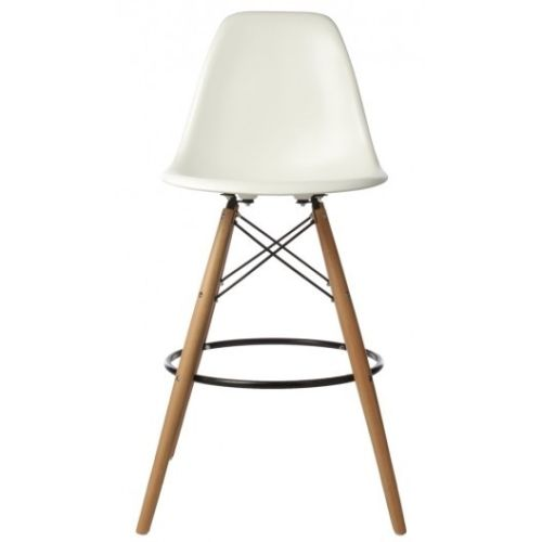 Eiffel stool with coloured shell 2