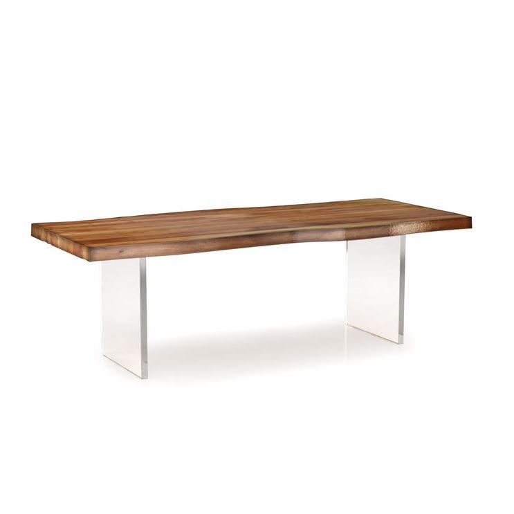 Big Ben Acacia Table Mikaza Meubles Modernes Montreal