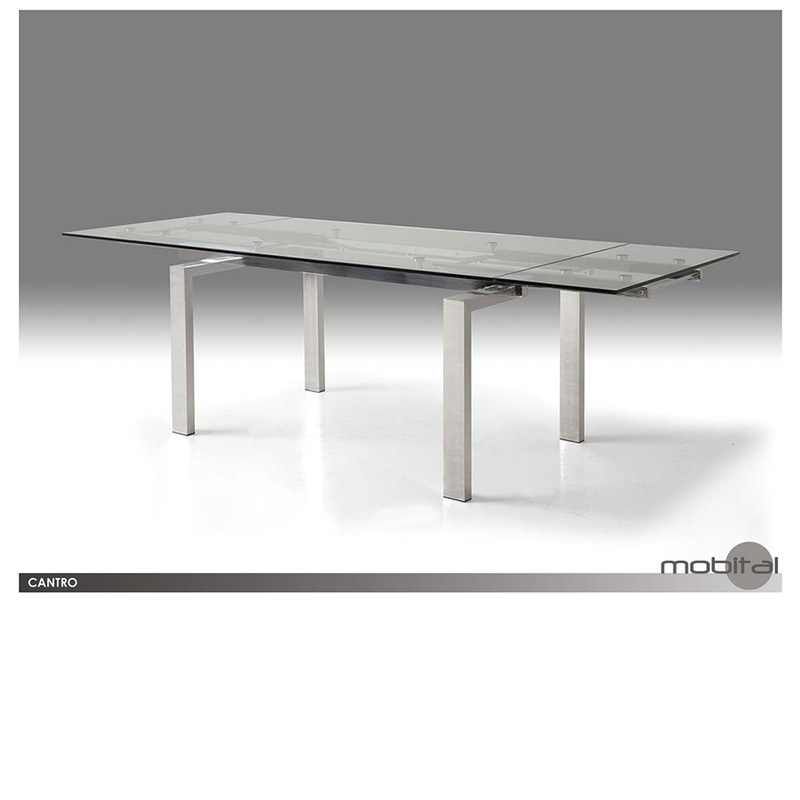 Cantro Dining Table Mikaza Meubles Modernes Montreal