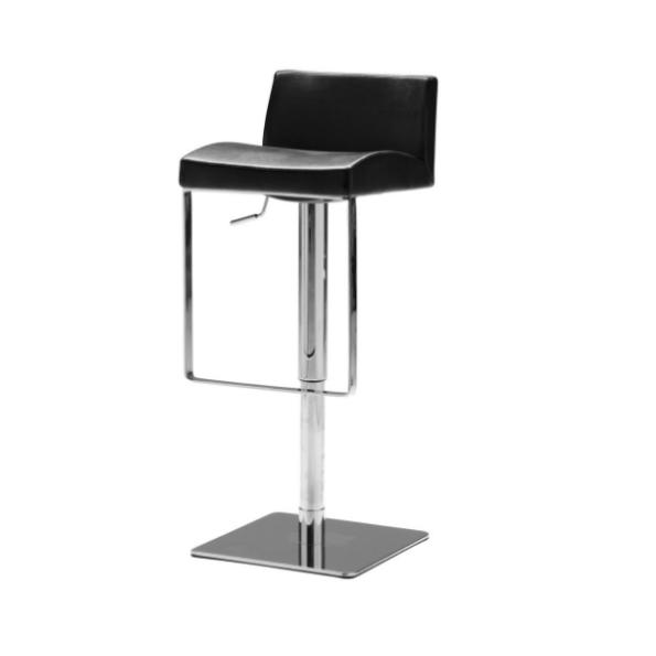 Astro hydraulic stool black