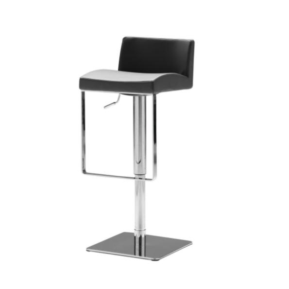 Astro hydraulic stool grey