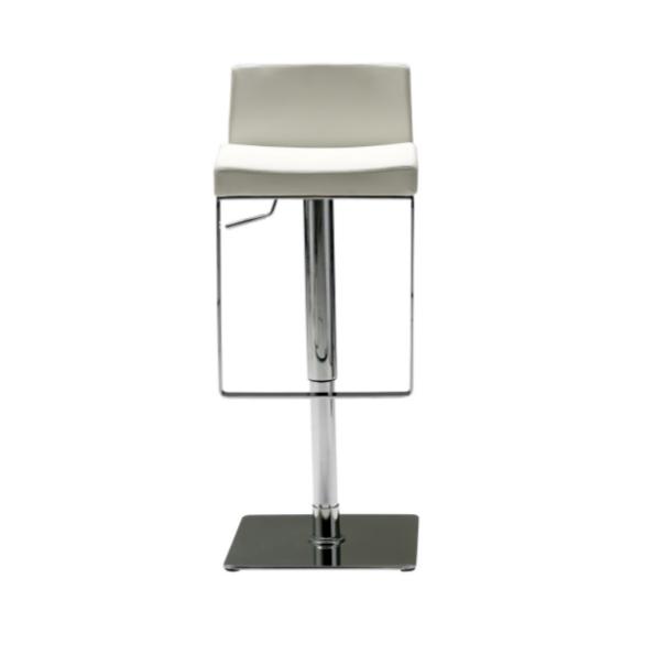 Astro hydraulic stool white