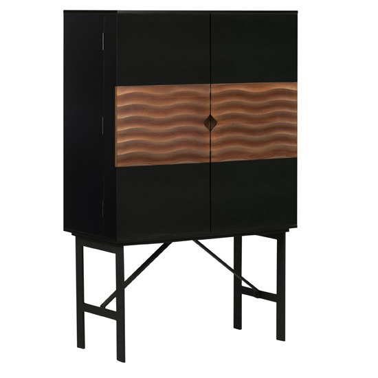 Swell Bar Cabinet Mikaza Meubles Modernes Montreal Modern Furniture Ottawa