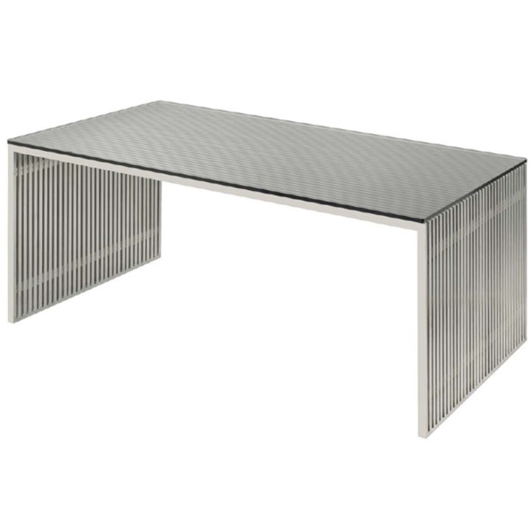 Amici stainless steel tables