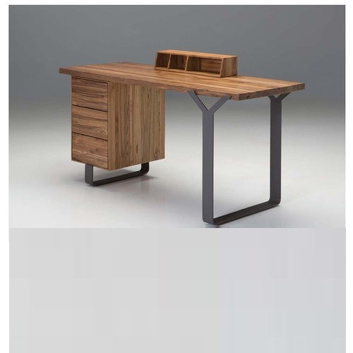 T Bar Desk Mikaza Meubles Modernes Montreal Modern Furniture Ottawa