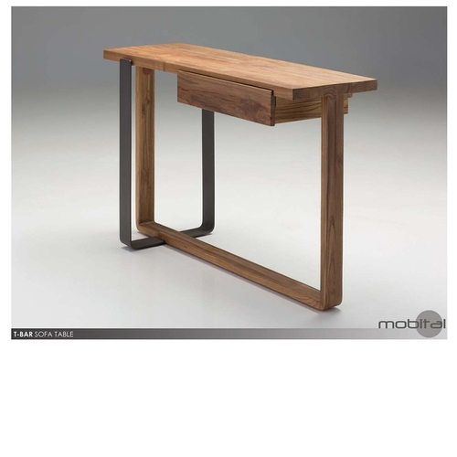 T-bar sofa table