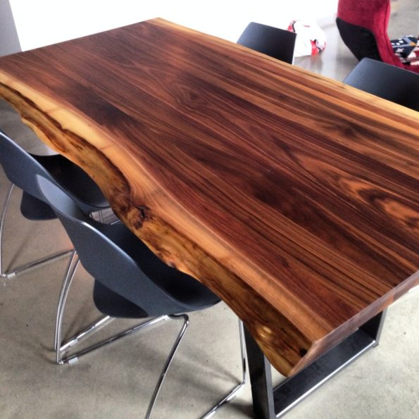 2Loons solid walnut tables