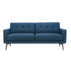 Ingrid three seater lagoon blue