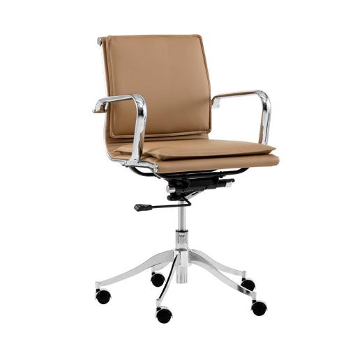 Pasha office chair tan