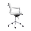 Pasha office chair white
