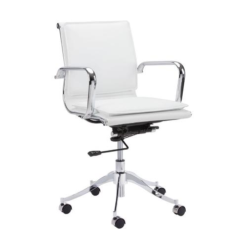 Pasha office chair white
