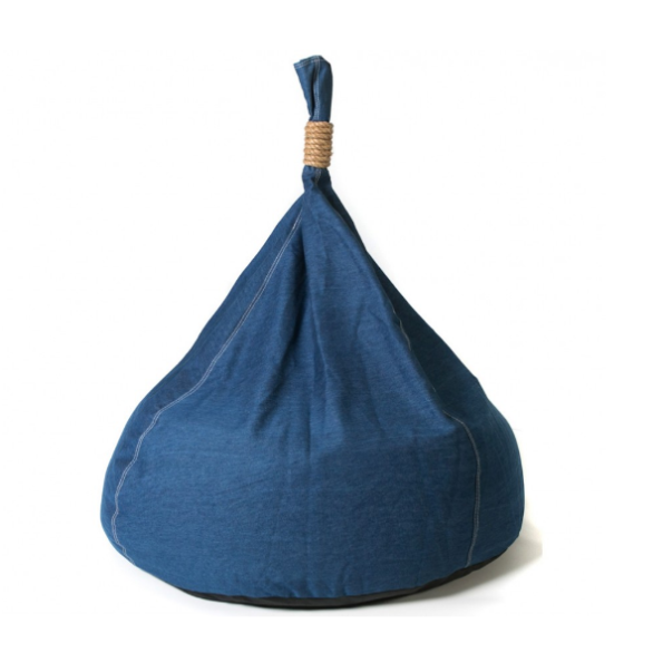 Denim Bean Bag