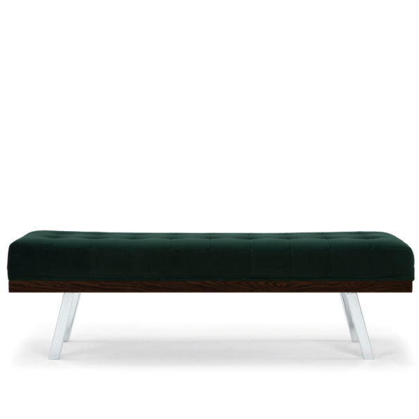 Rikard bench | emerald green