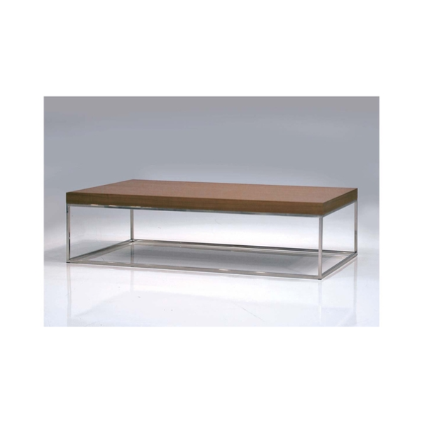 Kubo Coffee table rectangle veneer