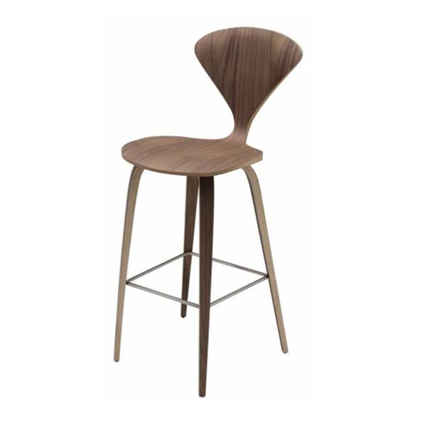 Satine counter stool walnut